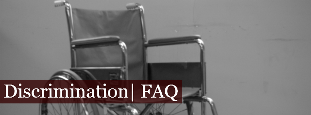 Discrimination | FAQ