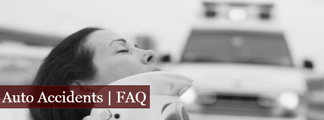 Auto Accidents | FAQ