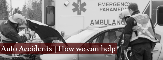 Auto Accidents | How We Can Help