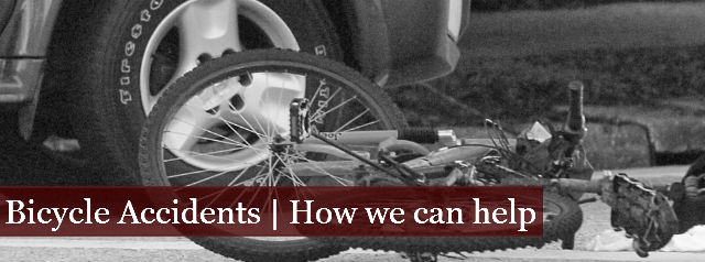 Bicycle Accidents | How We Can Help